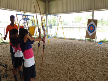 Archery and Horse Riding